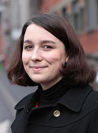 Clémence Wable, doctorante - PhD Student Crédits : ESPCI ParisTech