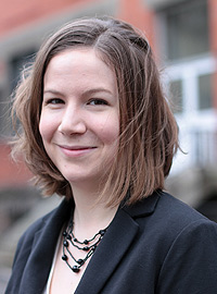 Jessalyn Cortese, doctorante - PhD student Crédits : ESPCI ParisTech