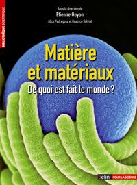 Couverture du livre Matière et matériaux Crédits : Belin