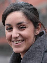 Nawal Quennouz, doctorante - PhD Student Crédits : ESPCI ParisTech