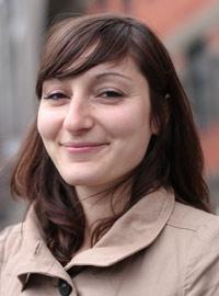 Clémence Vergne, doctorante - PhD student Crédits : ESPCI ParisTech