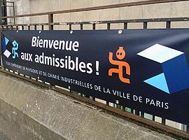 Bienvenue aux admissibles ! Crédits : ESPCI ParisTech