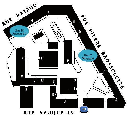 Plan du campus
